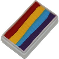 Rainbow Four 1 Stroke Split Cake 30g