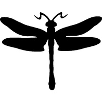 DRAGON FLY STENCIL