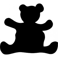 TEDDY BEAR STENCIL
