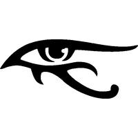 EGYPTIAN EYE STENCIL