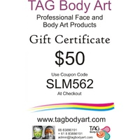 TAG Gift certificate  $50
