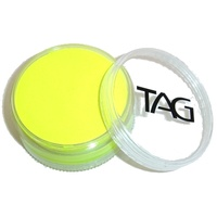 Neon Yellow Face and Body Paint 90g