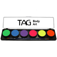 Neon Palette 6 x 10g Face and Body Paint