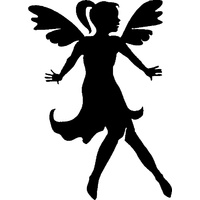 FLYING FAIRY STENCIL