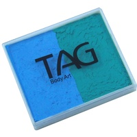 Teal & Light Blue Split Cake 50g