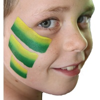 Green and Gold 1 Stroke Split Cake and sponge kit