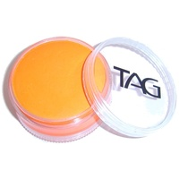 Neon Orange Face and Body Paint 90g