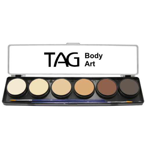 Skin Colour Palette 6 x 10g Face and Body Paint