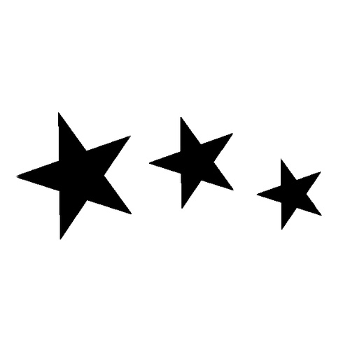 3 STAR CURVE (small)